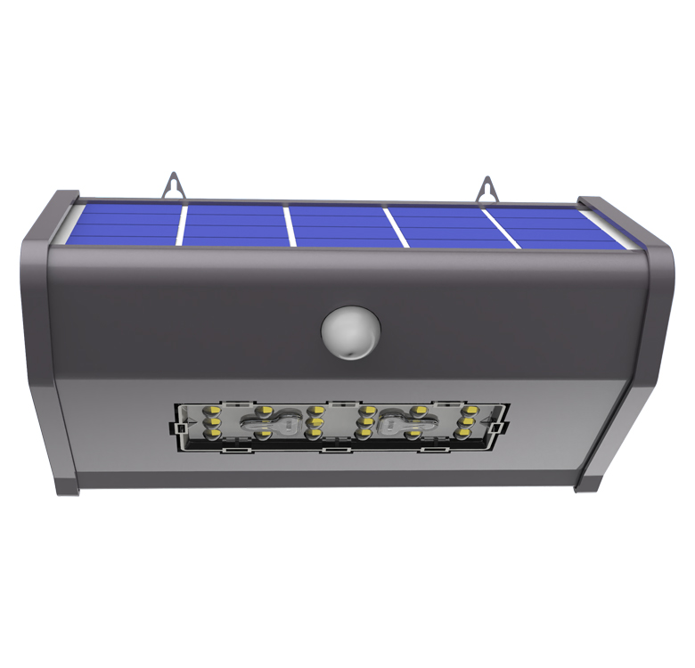Good Quality 3000K 6000K 10W IP65 Waterproof Wall Lamp Solar Garden Path Light