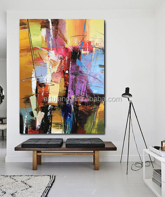 2020 new design 100% handpainted modern contemporary abstract art oil painting on canvas wall art pictures for living room decor