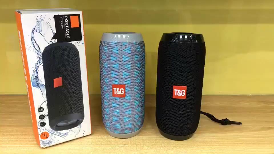 TG117 Portatile Altoparlante Impermeabile Senza Fili Speaker Esterno Subwoofer Bass Altoparlanti Wireless Mini Colonna Box Altoparlante di TF di FM