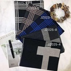 Latest design Cashmere Pashmina Cotton Plaid Men Man Scarf