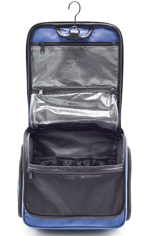 Amazon Vendita Calda Espandibile Dopp Kit Attaccatura Viaggi Toilette Cosmetic Bag di Viaggio Make up Organizer per Le Donne e Gli Uomini Impermeabile
