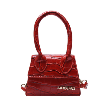 Mini Bags and Purse 2020 Fashion New PU Leather Women's Hand bag Crocodile Jacquemus Bag