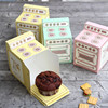 Fun oven design Paper Box cupcake candy Muffin chocolate snacks bake packaging Storage Boxes