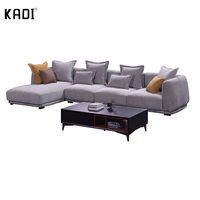 Modern soft and comfortable fabric sofa for living room