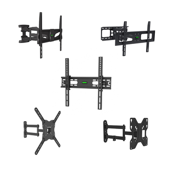 Professional factory supplier tv wall stand mount tv bracket for 17'-65' led lcd television