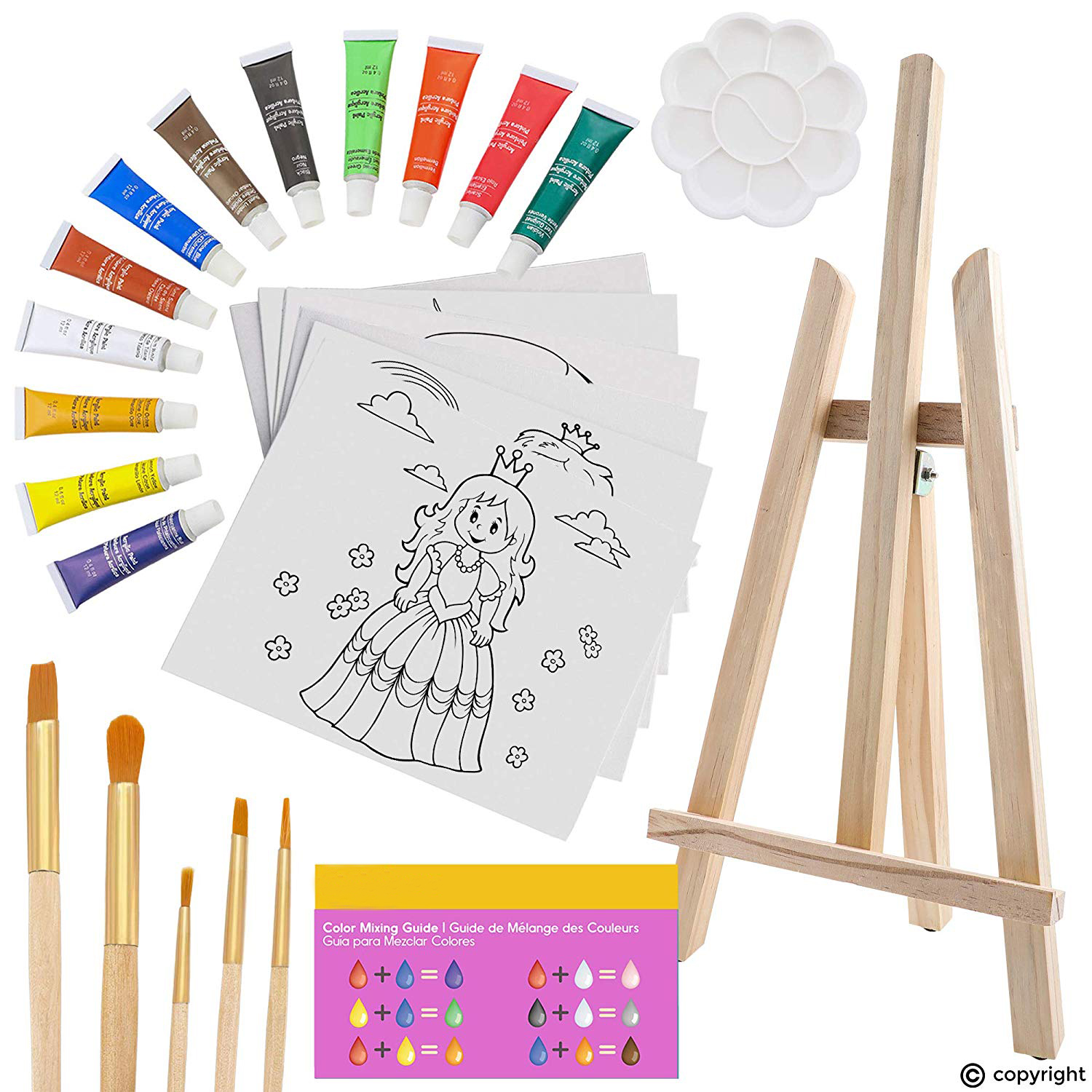 high quality art and craft set 25pcs kids art drawing set