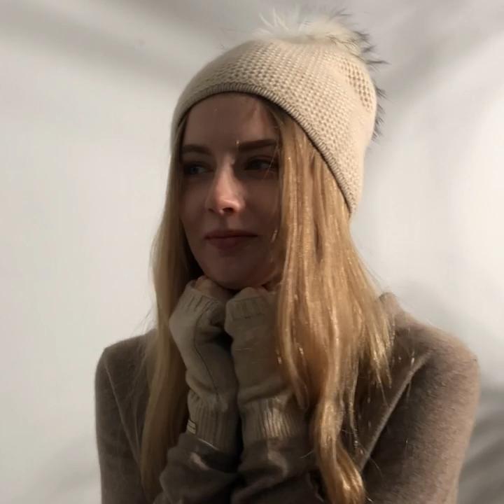 नई शीतकालीन गर्म बुनना दस्ताने महिलाओं बुना हुआ कश्मीरी Fingerless दस्ताने