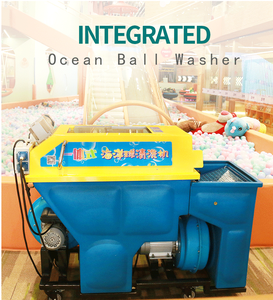 Factory Price Ocean Balls Washing Machine/Indoor Playground Ball Cleaning Machine/Ball Pool Pit Dry Washing Ball Machine