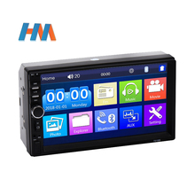 Universal 2 Din 7 Zoll Touch Screen Stereo Auto Radio Multimedia-Player,2Din Rückspiegel Link/FM/TF/Bluetooth/MP5 Auto Audio