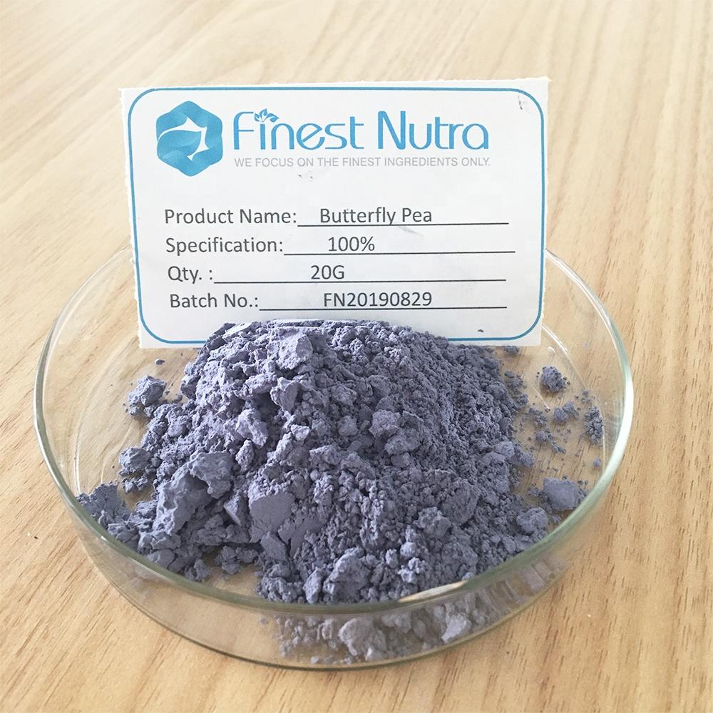 FINEST Nutra promotion high quality superfine blue butterfly pea powder - 4uTea | 4uTea.com