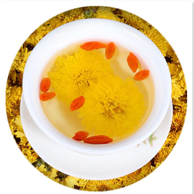 Chinese Yellow Chrysanthemum Herbal Tea For Reducing Blood Pressure - 4uTea | 4uTea.com