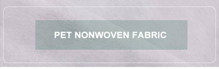 Respirável 100% poliéster não tecido spunbond pet impresso masque fabiric