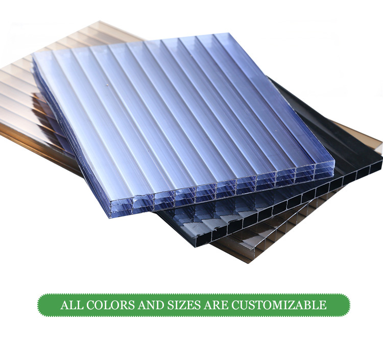 UNQ textured polycarbonate sheet manufacturers for architectural lighting roof-5