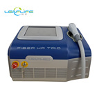 latest laser hair removal machine fiber coupled diode laser 800 W three wavelength three tips