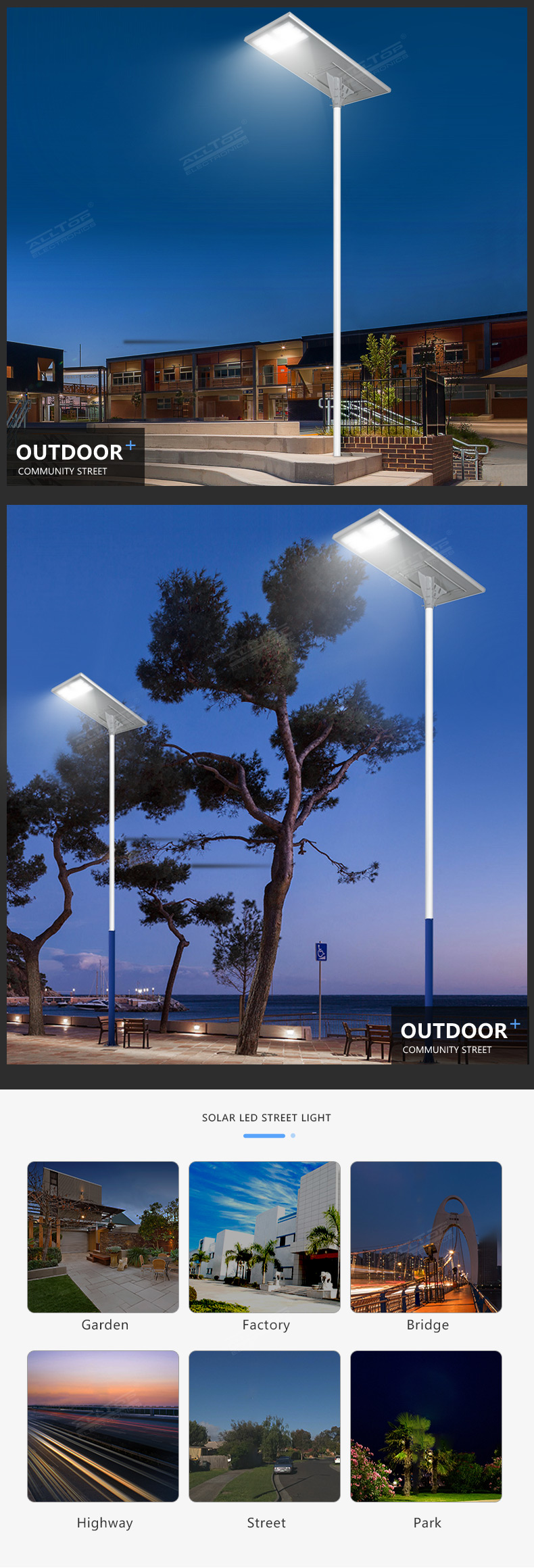 ALLTOP waterproof outdoor lighting solar best quality wholesale-13