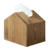 Dali Environmental Eco-Friendly Wooden Storage Cover Tissue Box For Office,House