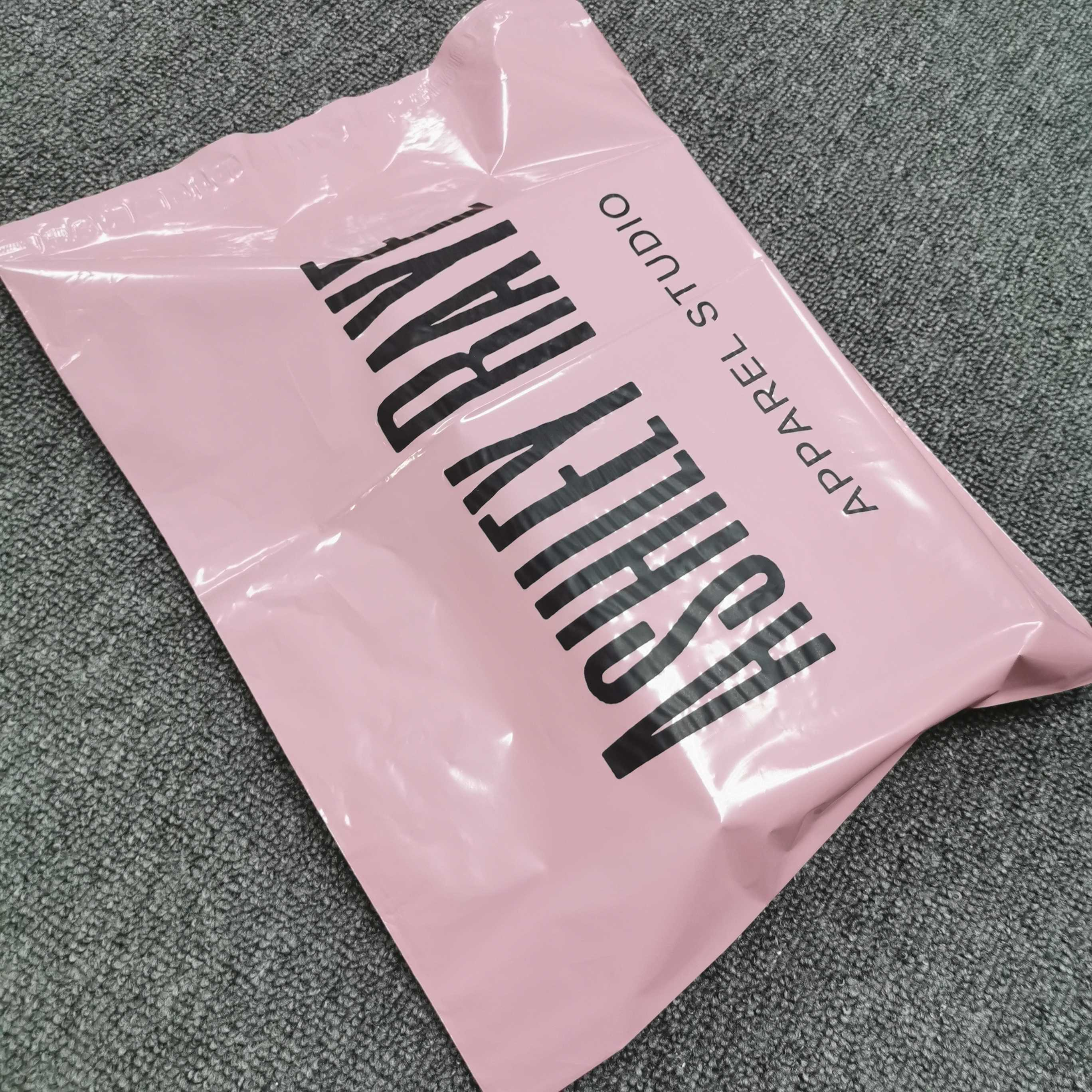 Stronger Tearproof Custom Logo Printed plastic poly courier mailing bags express shipping bag for clothes packaging