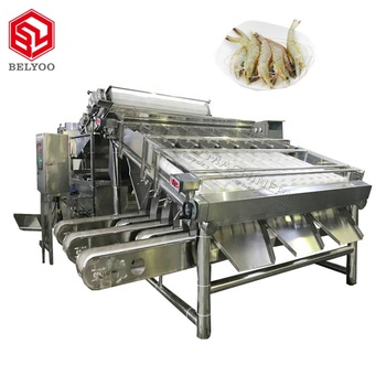 New style 100kg shrimp processing equipment line Good quality shrimp peeling machines for sale