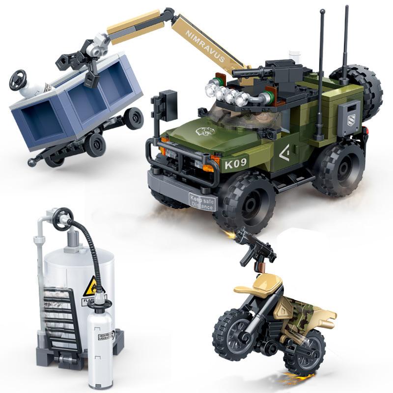 Военная Совместимость Legoingly бак блоки 2-ой мировой войны солдат армии рисунок группа захвата, оружие бронированный автомобиля оружейный WW2 м...(Китай)
