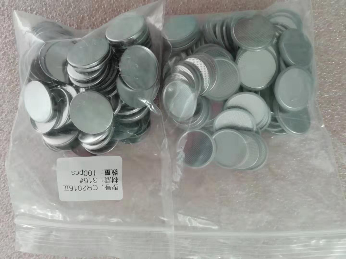 SS316 CR2016 Button Battery Cell Case