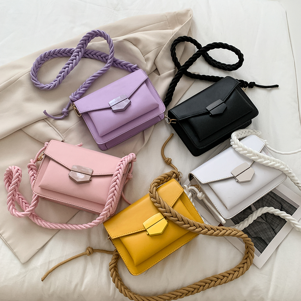 product-GF bags-Women new arrival Candy Color body Bags Small Square Shoulder Handbags Female Purse