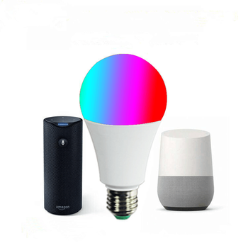 Tuya APP remote control b22 smart color bulb wifi alexa