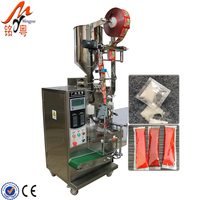 Sesame Paste Packing Machine Soy Sauce Bag Peanut Butter Sachet Filling And Packing Machine