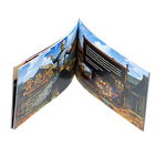 Custom Print Cheap Full Color Flyer/leaflet/booklet/postcards Professional Brochures, Magazine Postcard Comic Book
