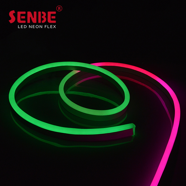 Senbe Lighting F21S IP68 Injection molded Direct Wire PVC Lamp Body Material LED Pixel Strip DMX