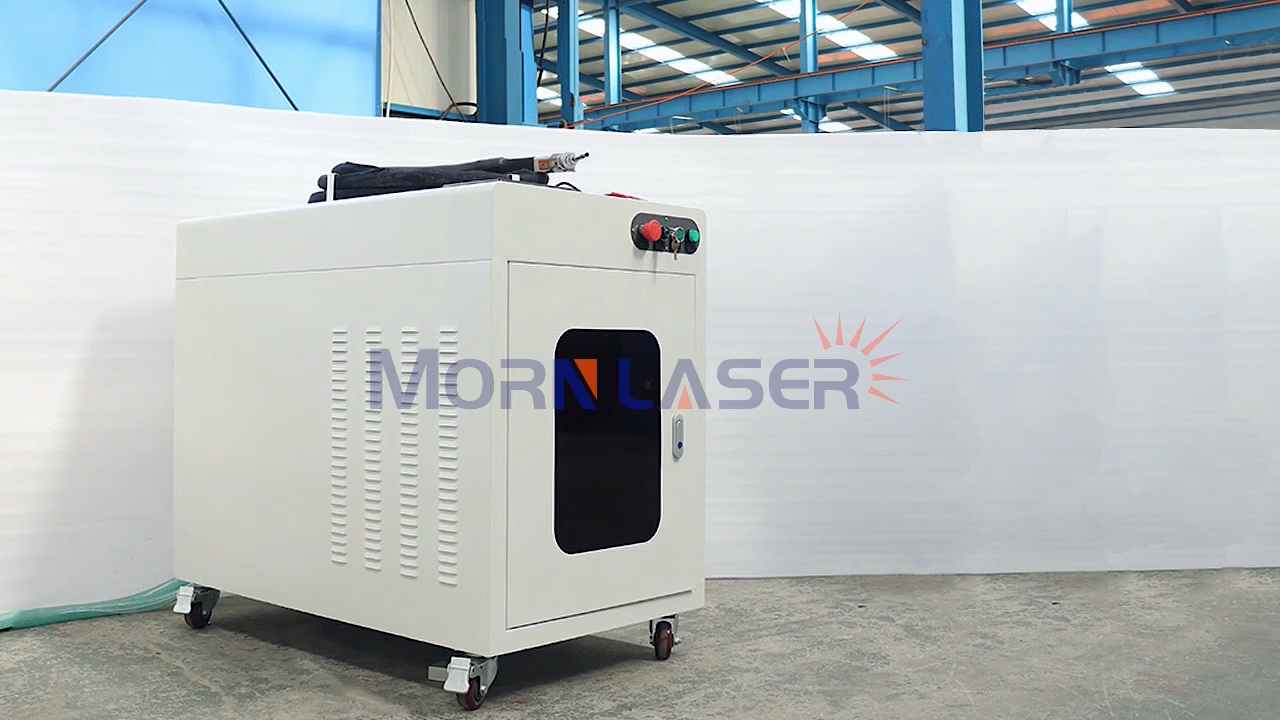 Morn 2000w 1500w 1000w metal sheet stainless steel cnc portable handheld spot fiber laser welding machine for sale