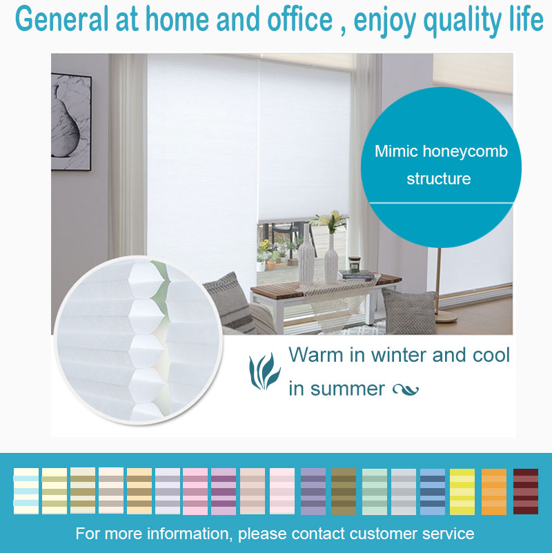 Window shades blinds up and down honeycomb cordless blinds