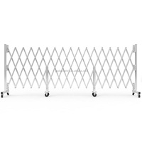 Parking space protective barrier tensile temporary fence pedestrian expandable safety security barrier