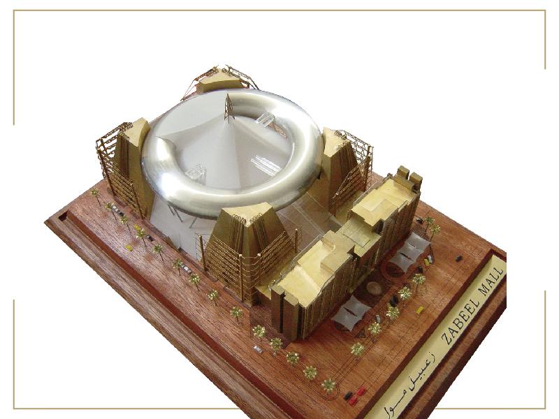 ประณีตของขวัญรุ่นสถาปัตยกรรมของขวัญรุ่น Commercial ฉลองที่ระลึก purposes.3d สถาปัตยกรรม modelex