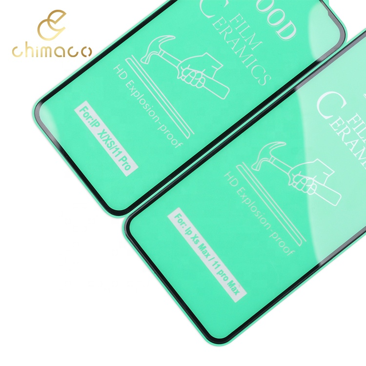 100D 9H Crystal Clear Ceramic Film Screen Protector For iPhone series 11 pro max