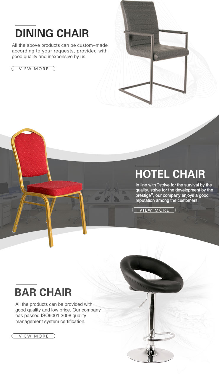 Top Quality Cheap Stackable Aluminum Restaurant Hotel Chair