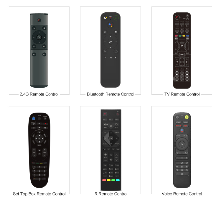 Produttore Q5 Air mouse 2.4G RF remote control per android, linux, windows