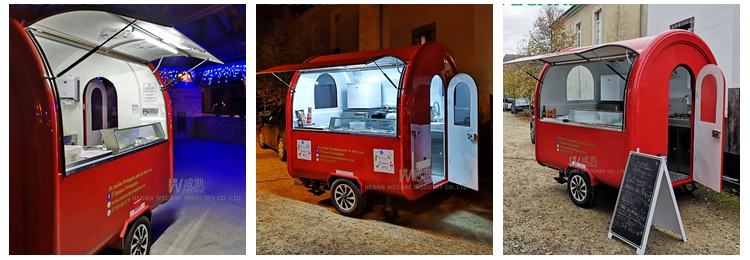 WECARE Low Price Best Quality small food cart
