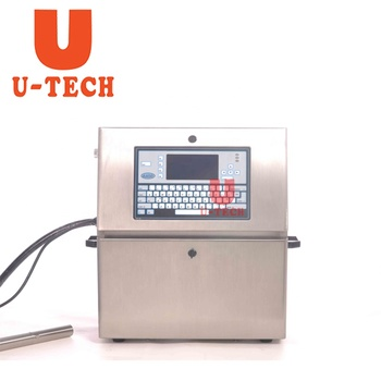 Continuous Small Character Date Barcode Printing Machine Same Application as Domino Ink Jet Printer