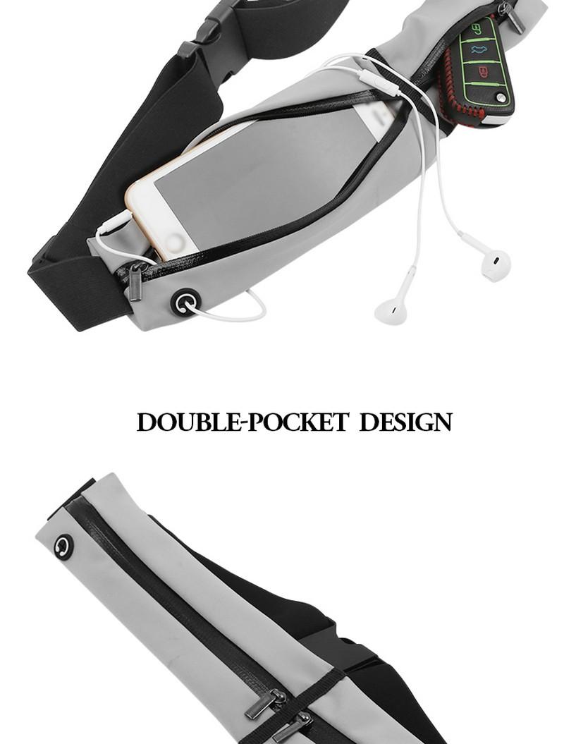 Wholesale design running fanny pack custom logo for sale