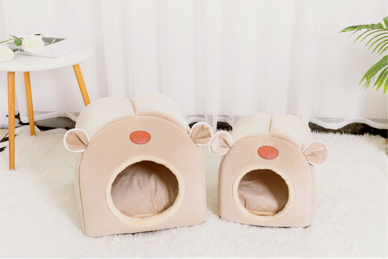Cat's nest dog's nest closed folding autumn and winter household pet products