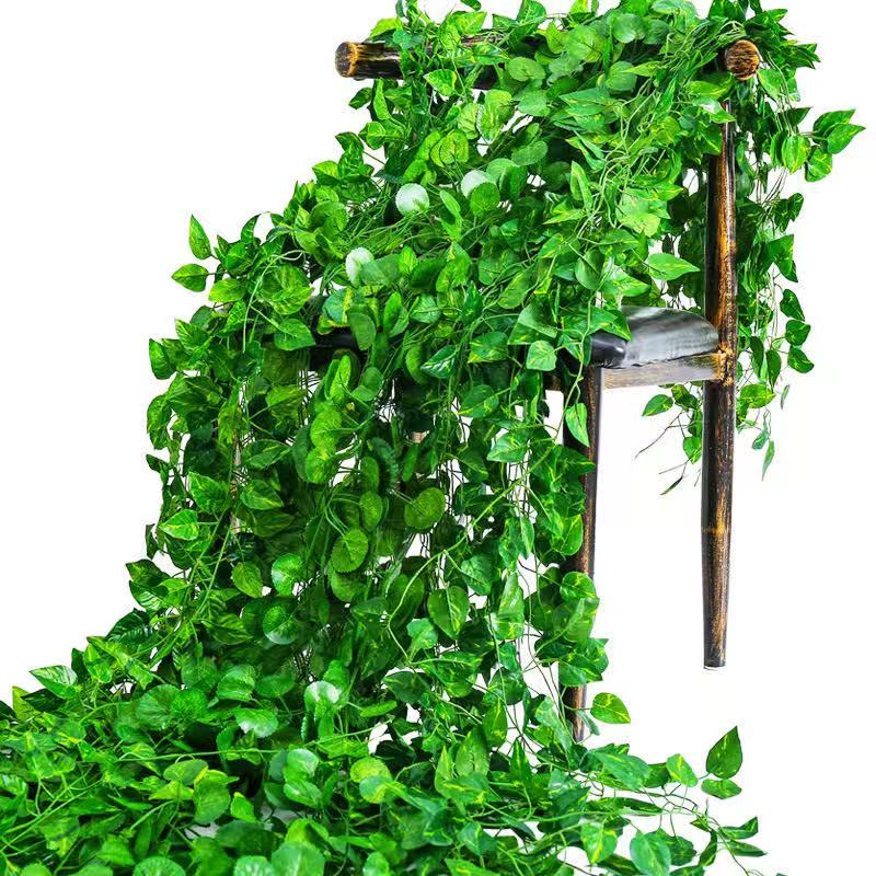 <strong>Artificial</strong> <strong>leaves</strong> 2.2m <strong>artificial</strong> Ivy vine <strong>green</strong> <strong>leaves</strong>