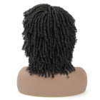 Hair Wigs Wig For Black For Wigs Women New Coming Roll Twist Short Synthetic Hair Wigs African Braided Dreadlock Wig For Black Women