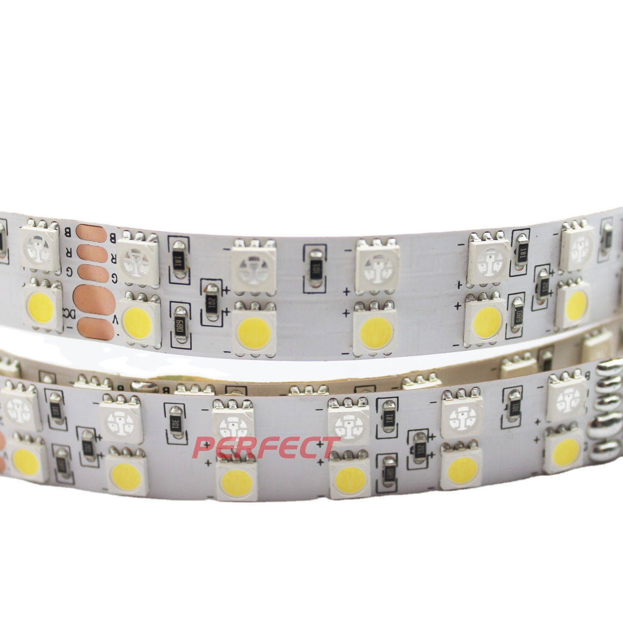 China Manufacturer High Lumen DC 24V SMD 5050 RGBW Flexible Led Strip Lights with Remote Controller