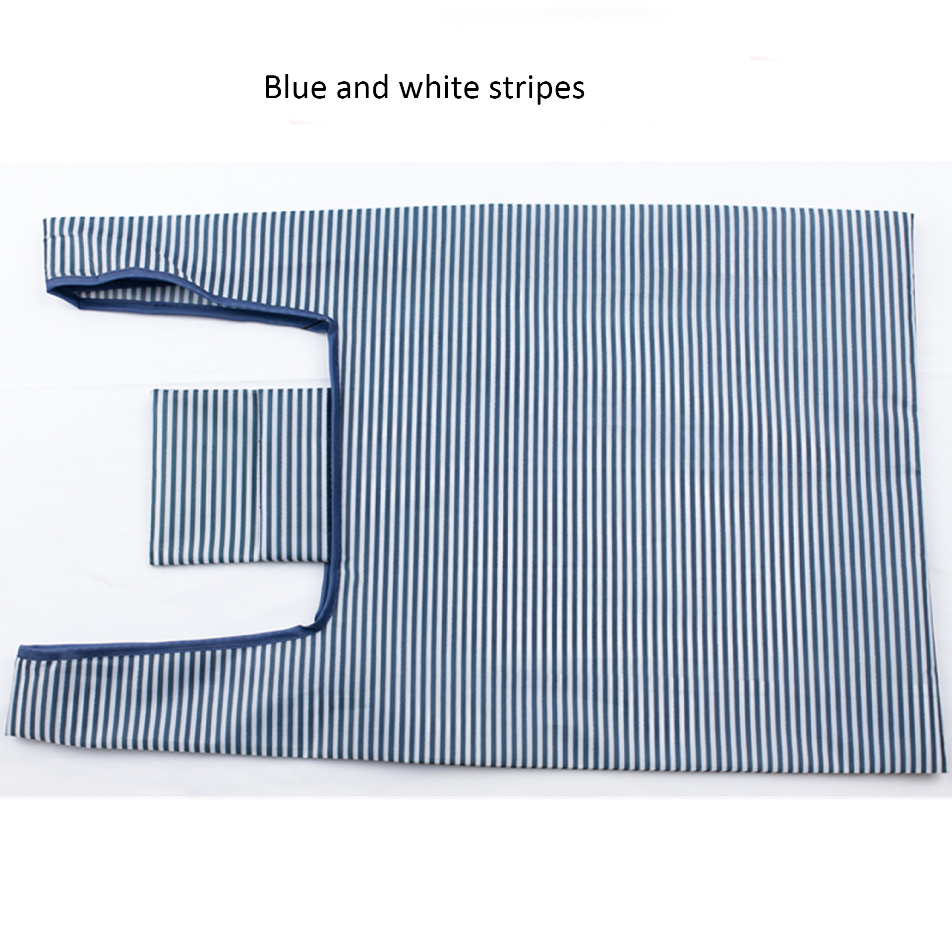 Factory Direct Reusable Eco Friendly 210D Oxford Cloth Waterproof Foldable Shopping Pouch Bag