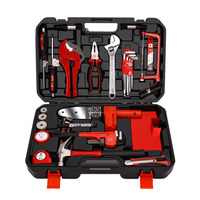 41pcs best selling professional plumbing repair tool sets with pipe welding machine and cutter pliers