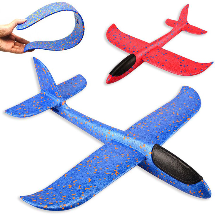 EPP Foam Hand Throw Airplane <strong>Outdoor</strong> Launch Glider Plane <strong>Kids</strong> Gift <strong>Toy</strong> 48CM Interesting <strong>Toys</strong>