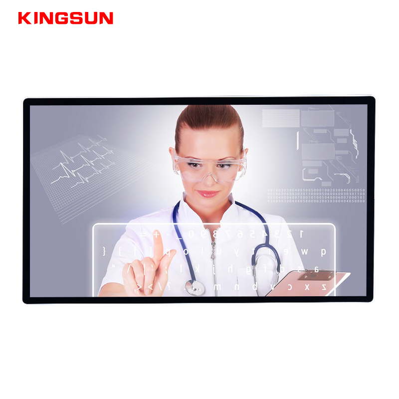 Shenzhen fabricage 55 inch groothandel capacitieve touchscreen 4 K all in one pc voor video