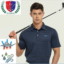 Di alta qualità mens poliestere custom fit asciutto camicia di golf