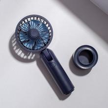 Usb мини зарядка три-Шестерня большой ветер 180 градусов складной бесшумный Электрический вентилятор портативный ручной настольный маленьки...(Китай)