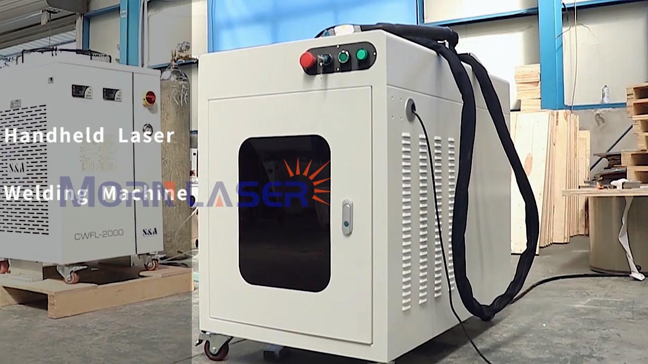 MORN CNC 1000w 1500w 2000w портативный точечный волоконный лазерный сварочный аппарат цена на продажу